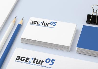 agentur05 – Wortmarke
