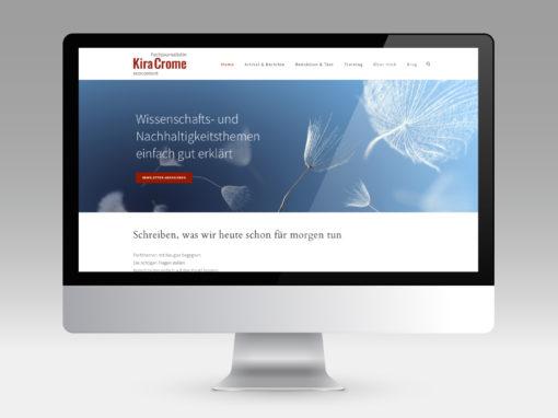 EcoContent – Branding und Website für Trainerin